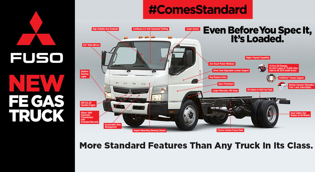 Medium Duty Commercial Trucks | Mitsubishi Fuso