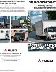 2020 FUSO FE GAS Warranty