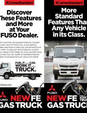 2020 #ComesStandard GAS Truck Brochure