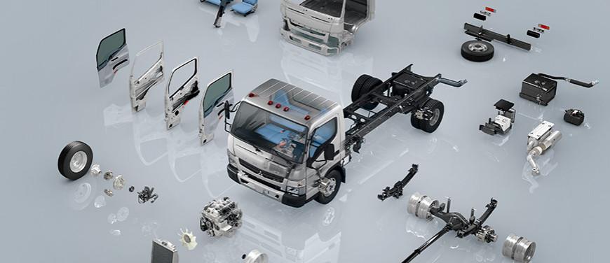 Parts & Accessories | Mitsubishi Fuso