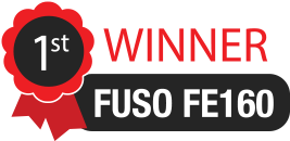 Fuso FE160 is the winner!