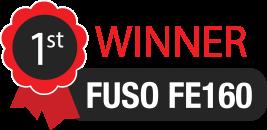 Fuso FE160 is the winner!