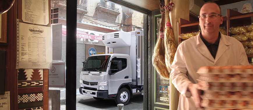 Commercial Truck Vocations | Refrigerated | Mitsubishi Fuso
